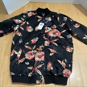 NWT women's floral jacket
